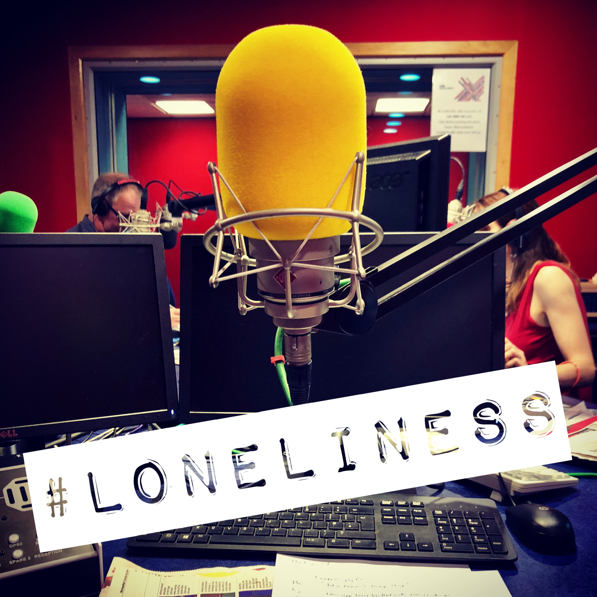 Fran Boorman on BBC Radio Kent talking about Loneliness