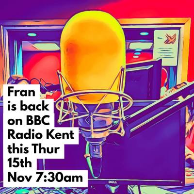 Fran's next BBC Radio Appearance