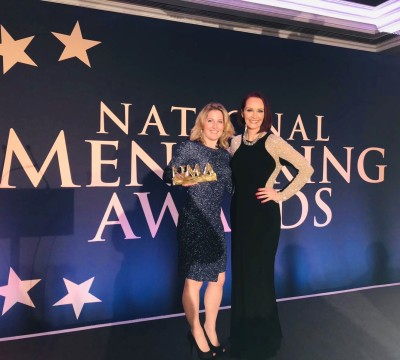 Goal 17 win at the National Mentoring Awards